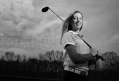 女高尔夫选手