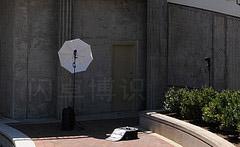 拍摄场地截面图