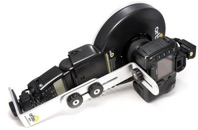 orbis®与支架、闪光灯、相机的组合