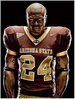 凶悍风格的橄榄球运动员肖像