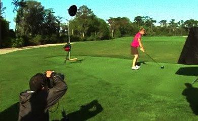 高尔夫球场拍摄