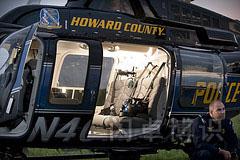 布光中的直升机