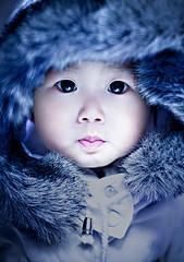 要过冬的小娃娃
