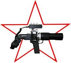 枪式照相机变成投影仪