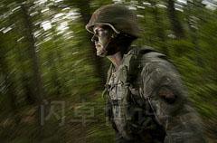 拍摄士兵摇摄效果图
