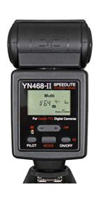 永诺新款闪光灯YN468的改进版——YN468-II