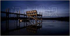 大卫·豪比平衡不同光源拍摄漂亮的码头