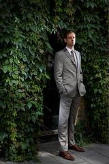 Nick Turpin为Arena杂志用几只SB-800街拍的精致、时尚肖像照