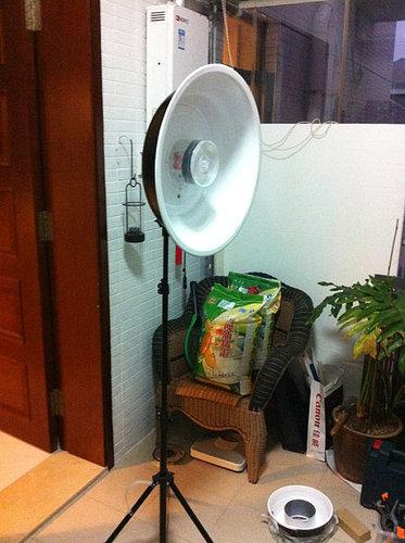闪卓博识读者骑鹅旅行记的铝盆自制雷达罩