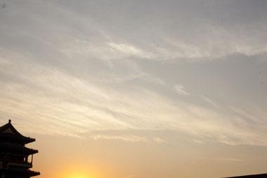 Carl McLarty为爽子的封面拍摄的美丽天空
