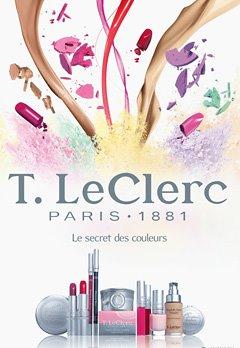 Jean-Baptiste Guiton为T. LeClerc拍摄的化妆品广告照