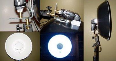 闪卓博识的读者Tom Seibert自制专业版的大型雷达罩和支架