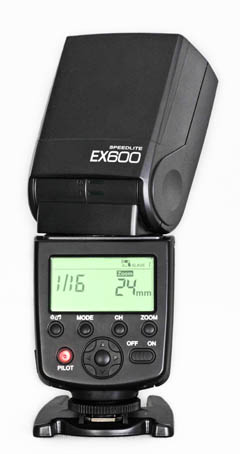 永诺EX600立体特写