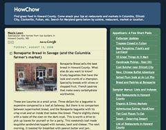 大卫·豪比发现一个具有许多民族特色的餐厅网站