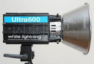 Ultra 600一体式影室灯侧面图