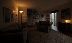 大卫·豪比平衡三个恒定光源拍摄的室内照片