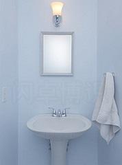 大卫·豪比拍摄的浴室照片