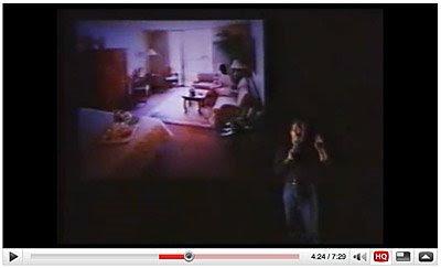 Dean Collins正在为大家讲解他是如何给旅馆房间打光的