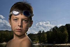 大卫·豪比使用Softbox III柔光箱为儿子Ben拍摄的肖像照