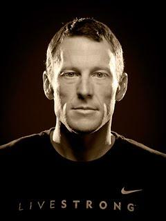 """摄影师Robert Seale为""""环法英雄""""兰斯•阿姆斯特朗(Lance Armstrong)拍摄的肖像照"""