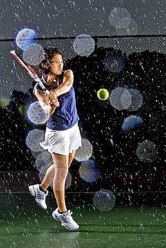 摄影师Matt Roth为高中网球运动员拍摄的肖像照