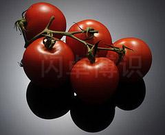 大卫·豪比使用斜切的盒子后为西红柿打光的效果开始改变了