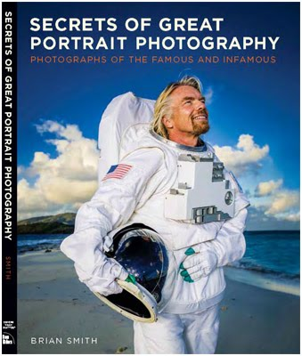 Brian Smith的著作《Secrets of Great Portrait Photography》封面