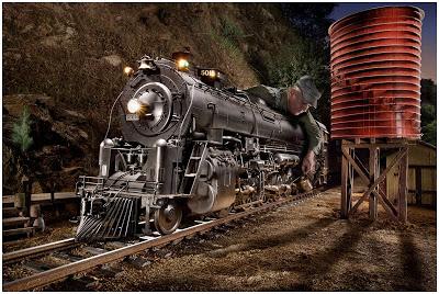 Eric Curry拍摄的火车头