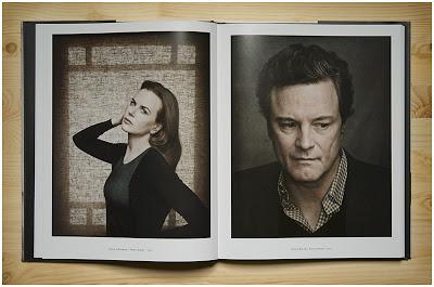 丹·温特斯Dan Winters's America书里拍摄人像的照片