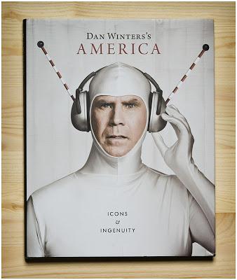 丹·温特斯Dan Winters's America书的封面