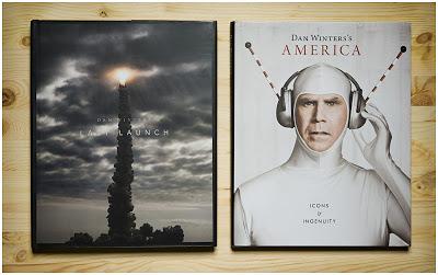 丹•温特斯Dan Winters两本书的封面照