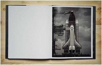 丹•温特斯Last Launch书里拍摄航天飞机的照片