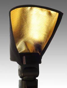 David Honl开发的一款暖色束光筒Honl Zebra 8