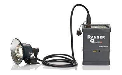 可用电池供电的闪光灯爱玲珑Ranger Quadra