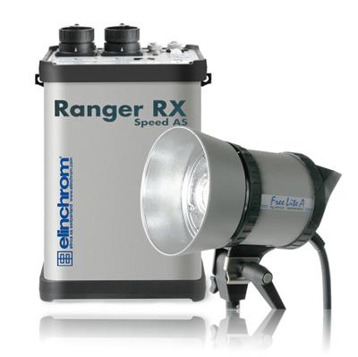 可用电池供电的大闪光灯爱玲珑Ranger RX
