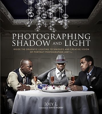 Joey L的新书Photographing Shadow and Light拍摄阴影和光线的封面