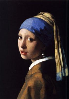 约翰内斯•维米尔的作品戴珍珠耳环的少女