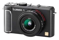 松下LX3相机正面肖像照