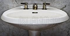 了解你的同步速度拍摄的洗手池