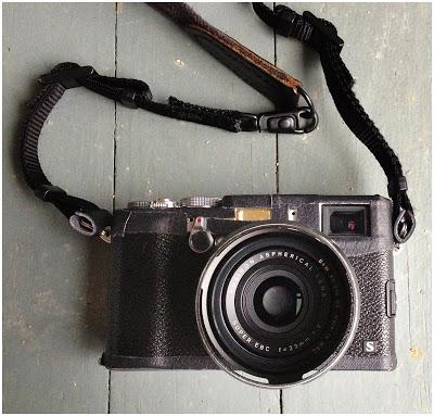 富士的X100s肖像照
