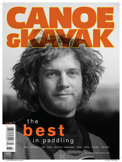 Canoe & Kayak杂志使用大卫·豪比拍摄的图片作为封面