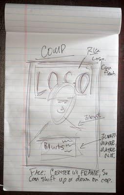 大卫·豪比手绘布光图