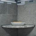 浴室的细节照片
