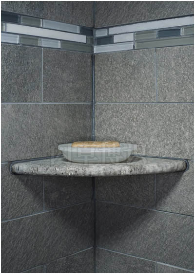 大卫·豪比布光拍摄浴室的石板架和肥皂
