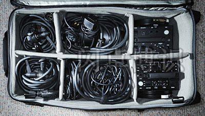大卫·豪比买的AlienBees闪光灯和变光工具