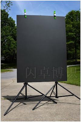 大卫·豪比制作拍摄头像照用的平板背景纤维板