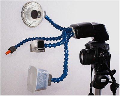 德国Marcel用光纤和诺克-莱恩导流管自制出的奇妙装置