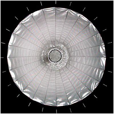 一款声称更适合数码相机的反光伞