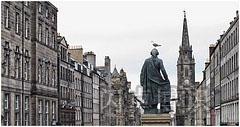 爱丁堡故事般的完美景色