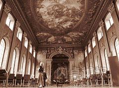 老皇家海军学院的彩绘画廊(Painted Hall)